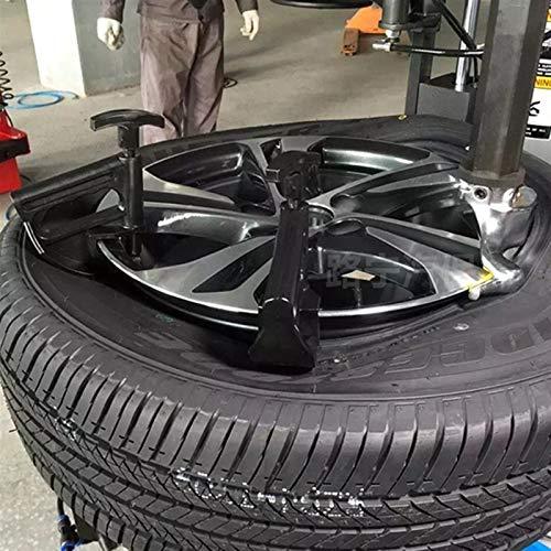 YTGUEVKDH Nueva 1 Pc Auto del Coche Herramienta de Cambiador de neumáticos de Bolas Abrazadera Gota Central de la llanta de la Rueda Universal de la Palanca de Cambio de ayudante