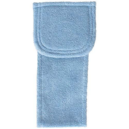オカ ペーパーホルダーカバー ブルー 約34cm×17cm PLYS Base(プリスベイス) ソフィ