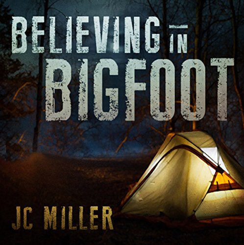 Believing in Bigfoot audiobook cover art