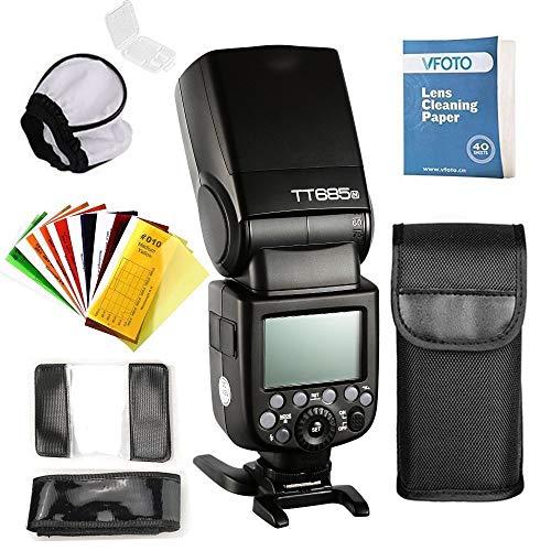Godox TT685N TTL High Speed Speedlite 2.4G HSS 1/8000 GN60 Camera voor Nikon Reflex DSLR D7200 D7100 D7000 D5500 D5300 D5200 D5100 D5000 D3300 D3200 D3100 D3000 D810 D800 etc.
