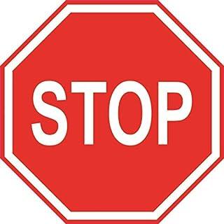 U24 Aufkleber Stop Stopschild Autoaufkleber Sticker Konturschnitt