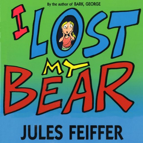 I Lost My Bear audiobook cover art