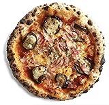 【5枚セット】PIZZAREVO人気PIZZA冷凍ピザ(約23cm)同種類5枚セット (2.茄子とベーコンのアラビアータ)手作り・窯焼き