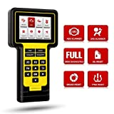 Thinkcar ThinkScan 600 OBD2 Scanner, ABS SRS Scanner with Oil/Brake/TPMS Reset Service, Car Diagnostic Scan Tool, Car Code Reader, Full OBD2 Function, Live Data Stream Graph, DTC Lookup, Lifetime Free