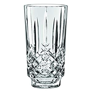 """Silk Flower Arrangements Marquis By Waterford Markham Collection 9"""" vase, 9&quot, Clear"""
