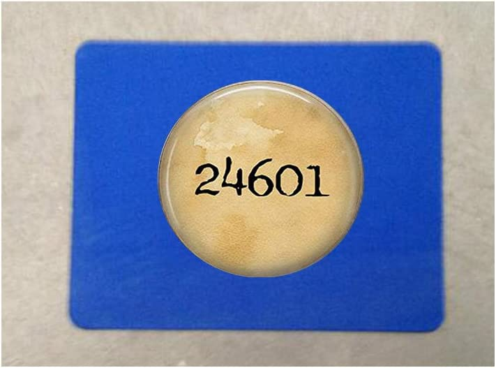 Les Miserables 24601,Mouse It is very popular Literary Bargain Jewelry pad