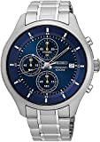 Seiko Chronograph Blue Dial Men's Watch SKS537