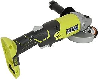 Ryobi ZRP421 ONE Plus 18V Cordless 4-1/2in Angle Grinder (Bare Tool) (Renewed)