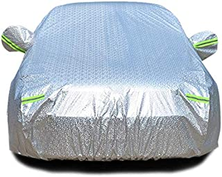 WYZXR Full Car Cover - Rainproof, Windproof, Dustproof, Anti-UV, Non-Flammable, Aluminum Film Vehicle Protection Covers Suitable for Audi Models - Silver (Color : Audi RS7)