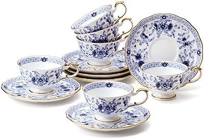 ナルミ・6客ティー碗皿(9682-6720)