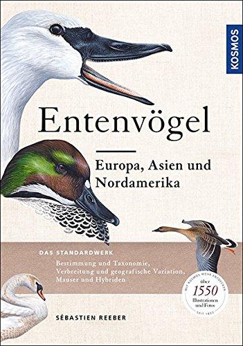 Entenvögel: Europa, Asien und Nordamerika