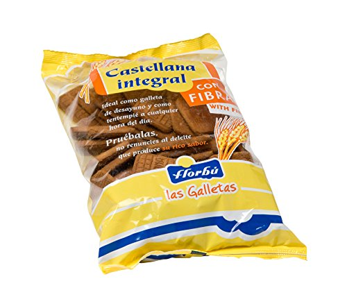 Florbú Galleta Desayuno Castellana Integral - 500 Gr