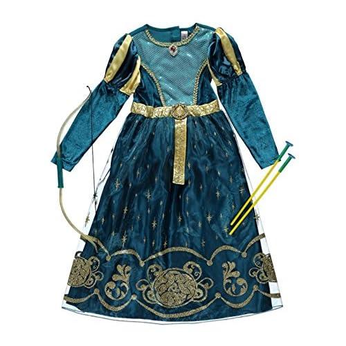 b5925362aa29 Officially Licensed Disney Pixar Princess Merida fancy dress Girls Brave  costume Age 5-6 &