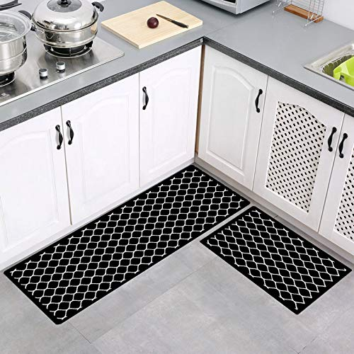 (48% OFF) Non Slip Washable Kitchen Floor Mats Set of 2 $20.79 – Coupon Code