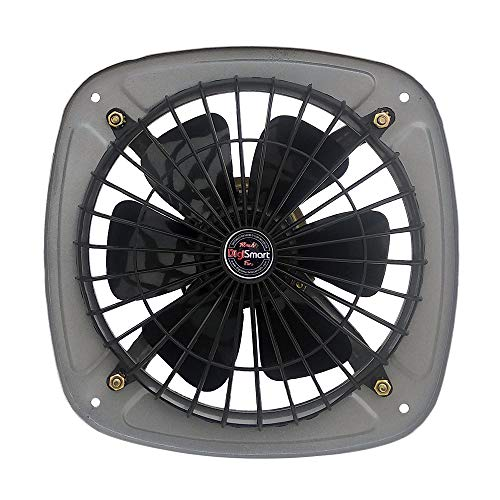 DIGISMART HIGH Speed 225mm RPM 2880 (9 Inches) Fresh Air Exhaust Fan (Silver)