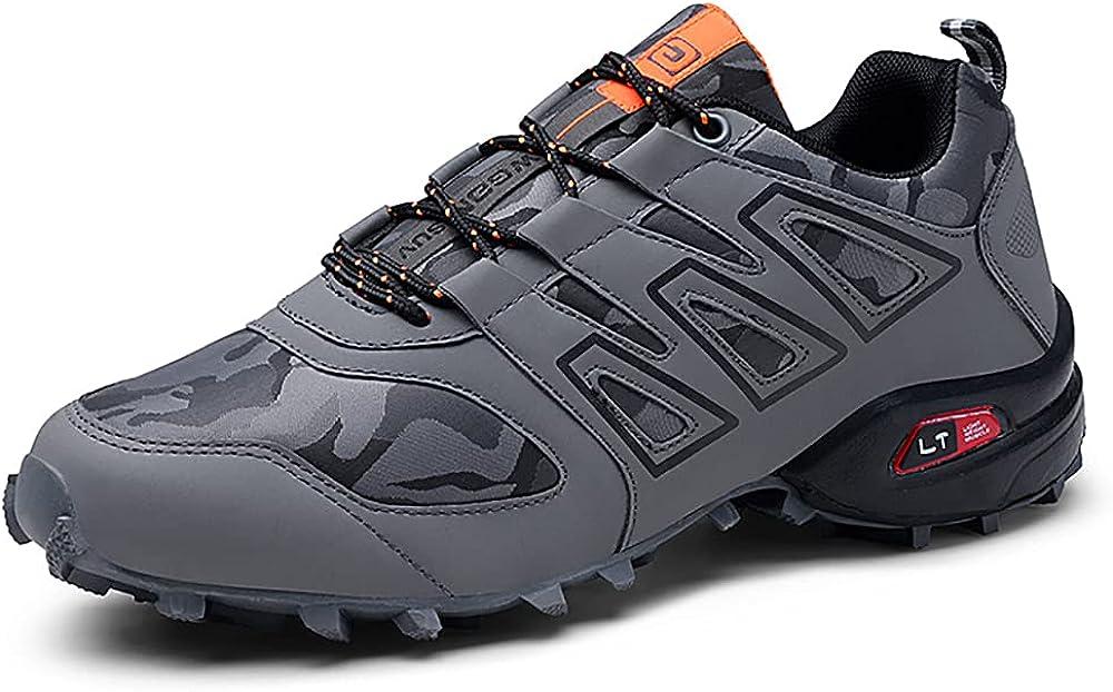 Hiking Shoes Men ☆送料無料☆ 当日発送可能 Waterproof Low Boots Top 買物 Trekking No Breathable