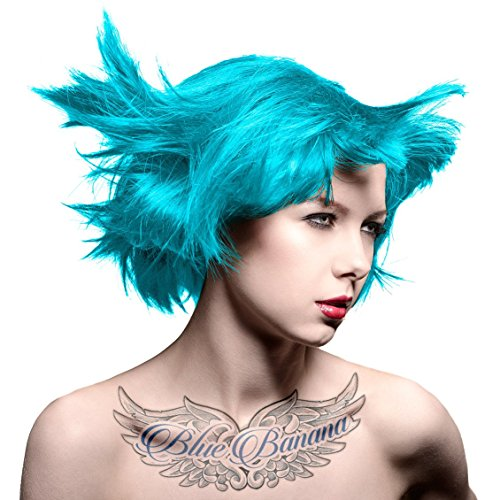 (3 Pack) MANIC PANIC Cream Formula Semi-Permanent Hair Color - Atomic Turquoise by Manic Panic