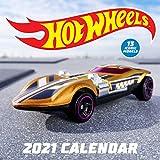 Hot Wheels 2021 Wall Calendar