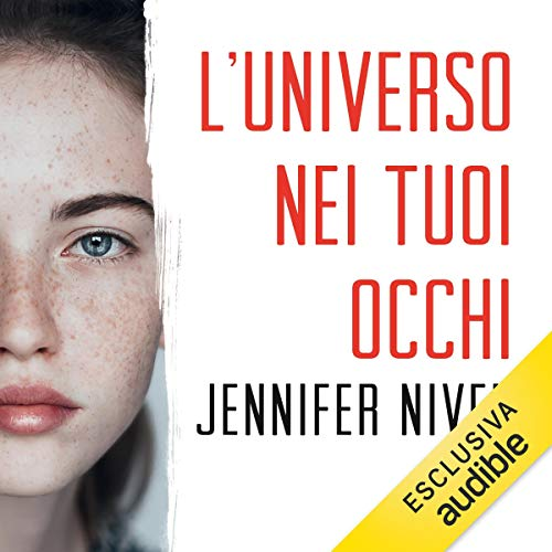 L'universo nei tuoi occhi audiobook cover art
