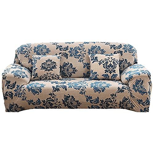 MKQB Funda de sofá elástica elástica para Sala de Estar, Funda de sofá con combinación de Esquina en Forma de L, Funda de sofá para Muebles de protección para Mascotas NO.2 S (90-140cm