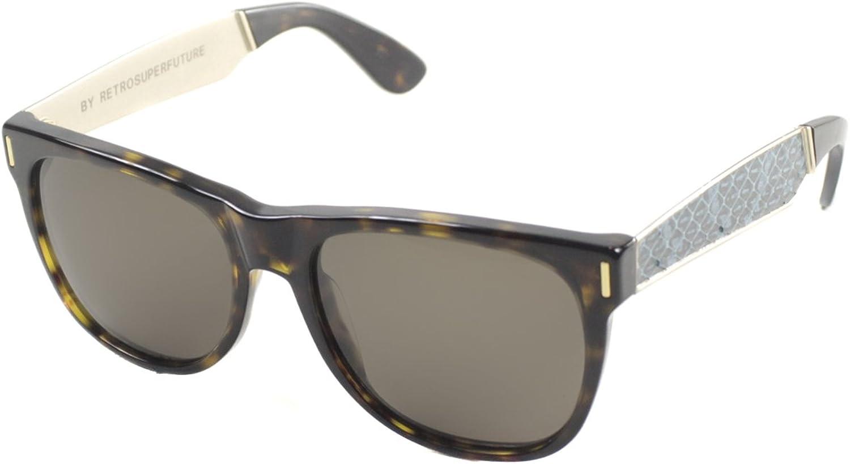 Retrosuperfuture Classic Tortoise Brown Lens Sunglasses