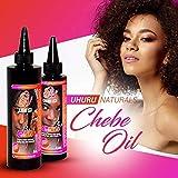 Uhuru Naturals Chebe pelo al óleo hechas con polvo Chebe, avestruz y aceite de oliva Plus Aceites Esenciales