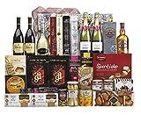Lote Regalo Cesta de Navidad 2020 Gourmet · Regalo Personal o de Empresa · Agradecimiento Navideño. Incluye Opcionalmente Tarjeta Dedicada y Personalizada a (Lote 07)