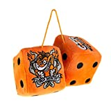 Crash Team Racing Furry Dice for Car (2 unidades)
