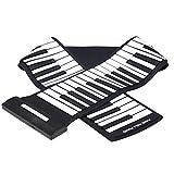 JYCDD Piano Enrollado a Mano De 88 Teclas Multifunción Portátil Eléctrico Teclado De Piano Enrollado a Mano órgano Electrónico para Niños
