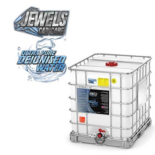 Jewels - Agua desionizada ultra pura (no destilada) (1000 litros IBC)