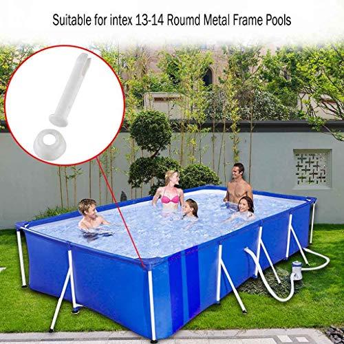 VWsiouev - Pasadores de juntas de plástico para piscina, 12/24 piezas de plástico para juntas de alberca, juntas de goma extra de 2.36 pulgadas, piezas de repuesto para piscinas con marco de metal, 12 unidades de 5,5 cm.