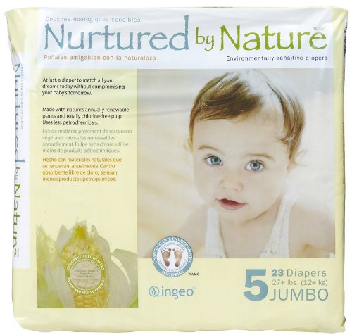 Nurtured by Nature Diapers - Size 5-23 ct