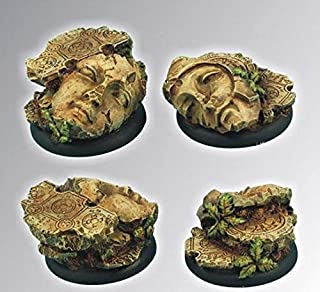 Crused Earth 25 mm round bases set1 5 Scibor Miniatures