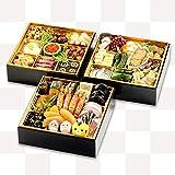 【くら寿司特製】おせち三段重 【12月30日お届け】4~5人前 四大添加物無添加 予約