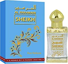 Haramain Sheikh for Men and Women (Unisex) CPO - Concentrated Perfume Oil (Attar) 15 ML (0.51 oz)