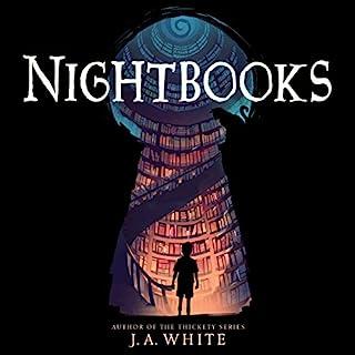 Nightbooks audiobook cover art