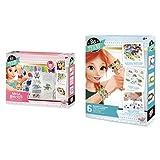 Buki France Be Teens, Mega Bracelets Caja Para Realizar Pulseras, 8 Años, Multicolor (BE003) + BE101 Pulseras de Dijes para niña , color/modelo surtido