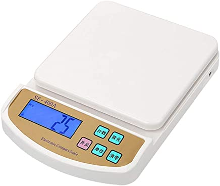 GLJJQMY Precision Home Kitchen Scale Plug-in Baking Scale Food Electronic Scales Electronic Scale (Size : 2kg)