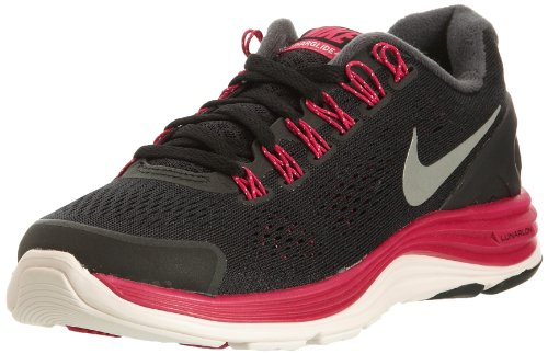 NIKE Lady Lunarglide+ 4 Running Shoes - 5.5 - Black