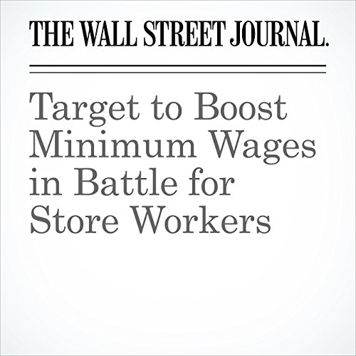 Target to Boost Minimum Wages in Battle for Store Workers copertina
