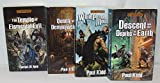 Grey Hawk Fantasy Four Book Bundle Collection, Includes: Descent Into The Depths Of The Earth -White Plume Mountain - Queen Of The Demonweb Pits - The Temple Of Elemental Evil