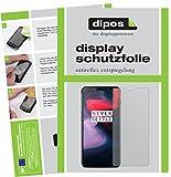 dipos I 6X Schutzfolie matt kompatibel mit OnePlus 6 Folie Bildschirmschutzfolie