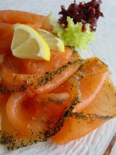 Marquart Feinkost - Premium Graved Lachs, geschnitten - 500 g -