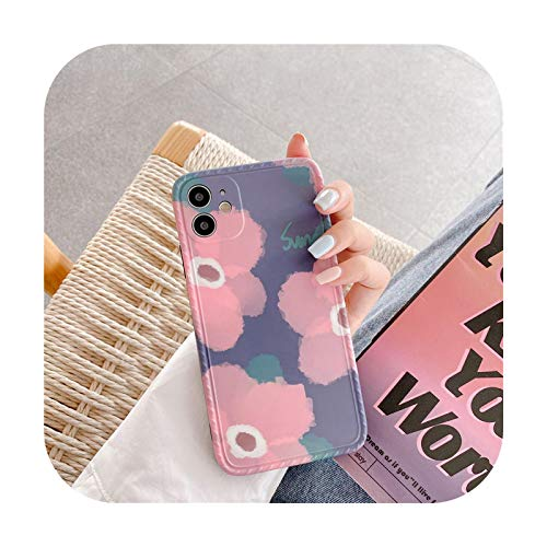 Carcasa para iPhone 11 11 Pro Max XR XS Max X XS 7 8 Plus 11Pro SE 2020 de silicona suave para iPhone X