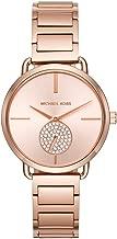 Michael Kors Women's Portia Watch- Three Hand Quartz Movement Wrist Watch with Second Hand subdial