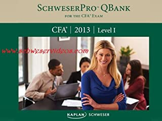 Schweser Pro Qbank 2013 CFA Level 1