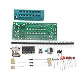 JCCOZ -URG Kit de 3 piezas de bricolaje ATmega8 ATmega48 AVR Kit de tablero de desarrollo de sistemas mínimos de iluminación de suite electrónica piezas sin chip URG