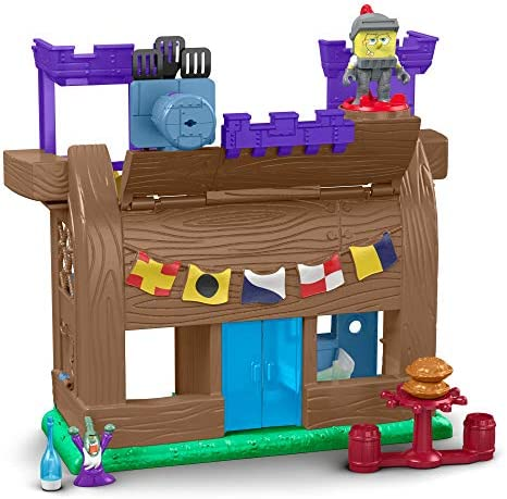 Fisher Price Imaginext Spongebob Krusty Krab Kastle Amazon Exclusive product image