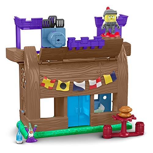 Fisher-Price Imaginext Spongebob Krusty Krab Kastle [Amazon Exclusive]