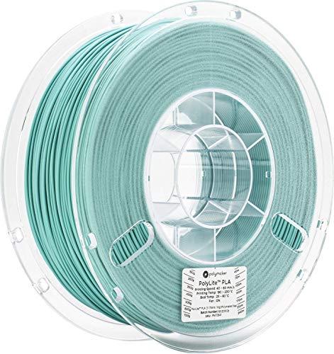 3Dプリンタ―用フィラメント PolyLite PLA 1.75mm径 1kg巻 ティール